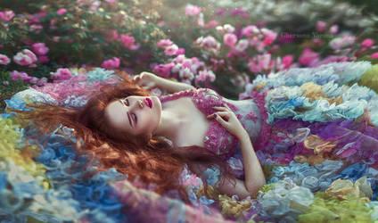 sleeping beauty by chervona