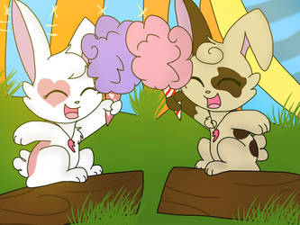 cotton buddies by Candygirl4226