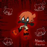 Wakfu OC: Naxas (Sacrier) by saxan39