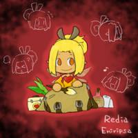 Wakfu OC: Redia (Eniripsa) by saxan39