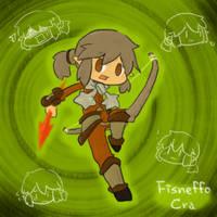 Wakfu OC: Fisneffo (Cra) by saxan39