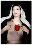 Le Coeur Blesse de la Vierge. by saturninus