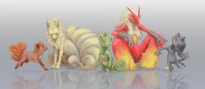 Pokemon [3/7] by OrangeSavannah