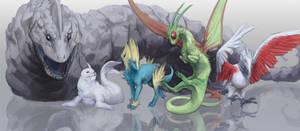 Pokemon [4/7] by OrangeSavannah