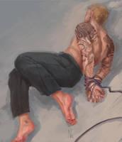 Tied up [Goretober 26] by OrangeSavannah