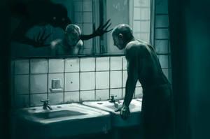 Mirror [Goretober 06] by OrangeSavannah