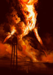 Burning [Goretober 12] by OrangeSavannah