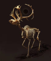 Bones [Goretober 19] by OrangeSavannah