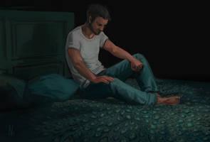 Insomnia [Goretober 21] by OrangeSavannah