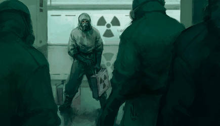 Radiation [Goretober 19] by OrangeSavannah