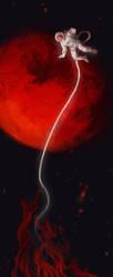 Space [Goretober 21] by OrangeSavannah