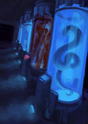 Container [Goretober 27] by OrangeSavannah