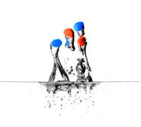 MandM Splash by funnyamoony
