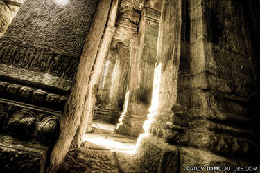Angkor Thom by tomcouture