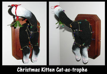 Kitten Christmas Catastrophe by crokittycats