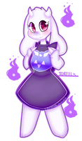 a cute toriel fills you with determination by bunxl