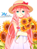 [Render] IA Vocaloid by KuronekoYuuki