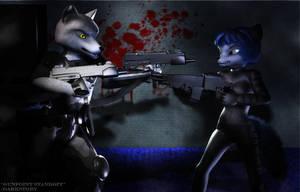 Gunpoint Standoff by DarkStory