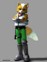 Fox, uber realism by DarkStory