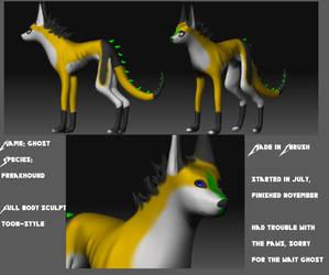 Ghost's 3D model by DarkStory