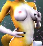 Renamon Titties by DarkStory