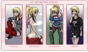 Eromania: Natalie Wardrobe Meme by AbnormallyNice