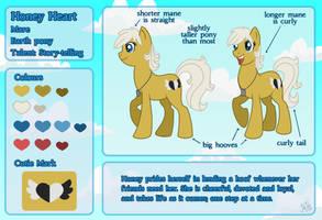 MLP: Honey Heart Reference by AbnormallyNice