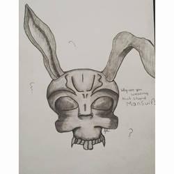2013 Donnie Darko Inspired Drawing by un-hynged
