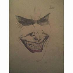 2014 Joker Sketch by un-hynged