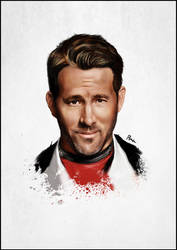 Ryan Deadpool by SuperFFC
