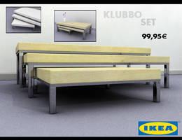 Klubbo - Ikea - by zigshot82