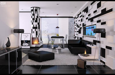 Alenquer living space by zigshot82