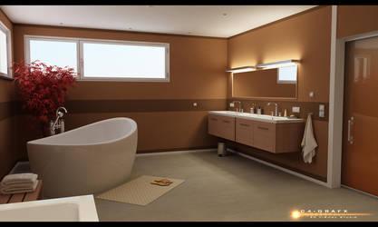 smpl bathroom by zigshot82