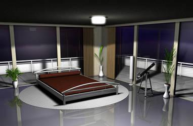 Bedroom by zigshot82