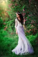 Spring princess by OlgaBoyko
