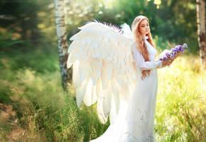angel by OlgaBoyko