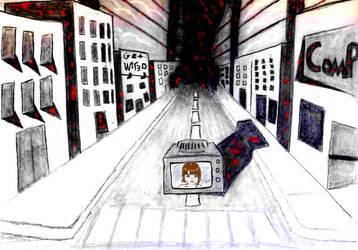 Exit this world- txen eht nepo by StaticRaze