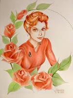 Major Kira Nerys by GilwenGreenleaf