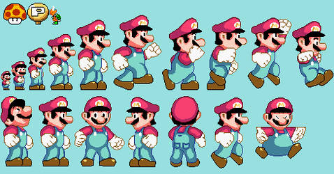 SMW Original Mega Mario Expansion by FanofSMBX