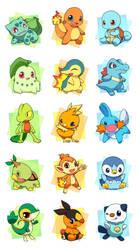 pokemon start by huiro