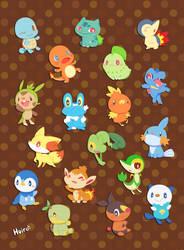 pokemon1~6 by huiro