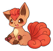 Vulpix by huiro