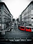 Prague's tram by ulyce