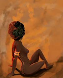 First, The Nubian. by AlchemistArtworks