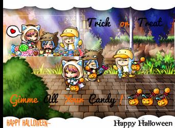 Halloween pic~ by DianeLovesCookies