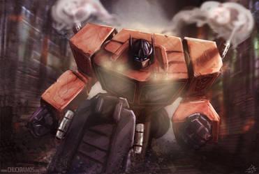 Optimus Prime by ChuckRamos