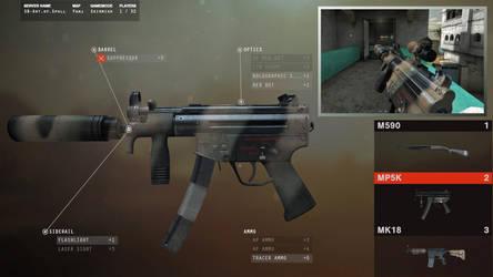 Delta MP5k by SpallStudios