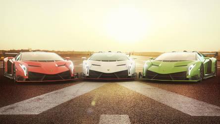 Lamborghini Veneno by MixMyPhotoshop