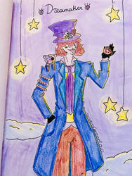 This is my oc Dreamaker by OxOMissCaramelOxO