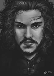 Jon Snow, where's the dragonglass? by noodlepredator